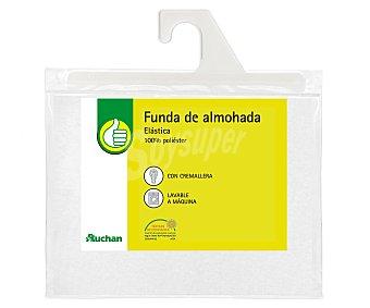 Productos Económicos Alcampo Funda protectora de almohada de microfibra, 150 centímetros 1 unidad