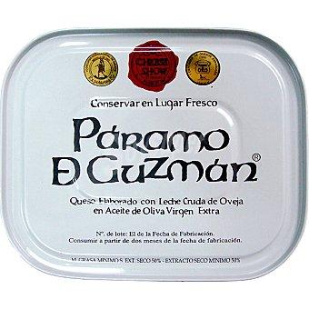 PARAMO DE GUZMAN queso de oveja en aceite de oliva lata 250 g