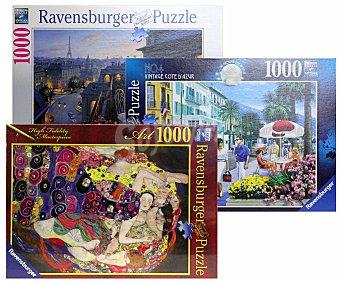 RAVENSBURGUER Puzzles de 1000 Piezas Surtidos 1 Unidad