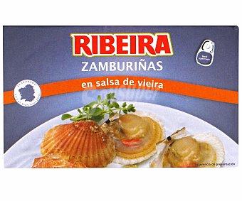 Ribeira Zamburiñas en Salsa de Vieria 65 Gramos