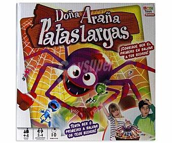 IMC Juego de Mesa Infantil Doña Araña Patas Largas, De 2 a 4 Jugadores Doña Araña Patas Largas