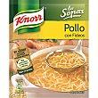 Sopa de pollo con fideos Sobre 63 g Knorr