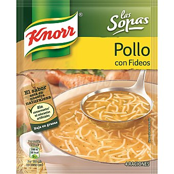 Knorr Sopa de pollo con fideos Sobre 63 g