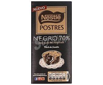 Nestlé Chocolate negro 70% para resposteria fácil fundir 170 gr