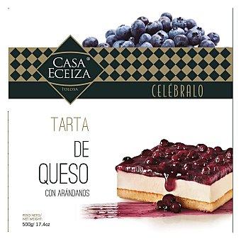 Casa Eceiza Tarta helada de queso fresco con arándanos 550 g