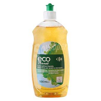 Carrefour Eco Planet Lavavajillas líquido ecológico té verde bergamota 500 ml