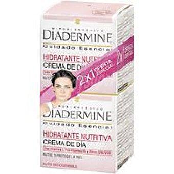 Diadermine Crema hidrantante piel seca-sensible Pack 2x1 unid