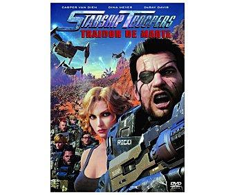 Sony Starship Troopers: Traidor de marte, 2017, película en Dvd. Género: Ciencia ficción, animación, acción. Edad: + 16 años