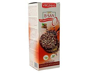 B-SAN Galletas con chocolate y almendras 110 gramos