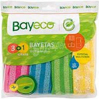 Bayeco Bayeta de microfibra bayeco, pack 3 unid. Pack 3 unid