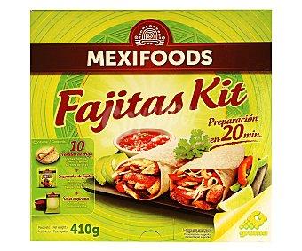 Mexifoods Kit para hacer fajitas 410 gramos