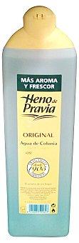 Heno de Pravia Colonia fresca baño Botella 900 cc