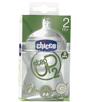 CHICCO Biberon step up 2 + 2 meses 1 ud