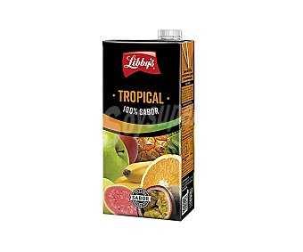 Libby's Zumo cocktail tropical 100 % Brick de 1 l