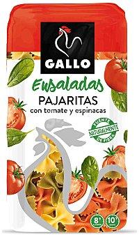 Gallo Pasta pajarita con espinacas y tomate Paquete 500 g