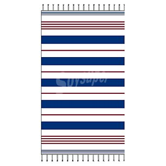 CASACTUAL Virginia toalla de playa pareo con rayas azules