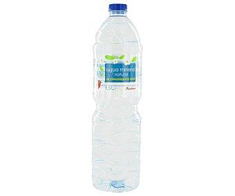 Auchan Agua mineral, botella 1,5 litros 1,5L
