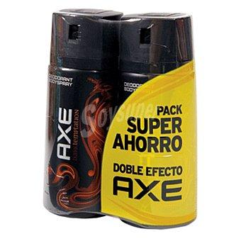 Axe Desodorante dark temptation duplo Spray 300 ml