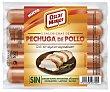 Salchichas de pechuga de pollo sin gluten sin lactosa Envase 200 g Oscar Mayer