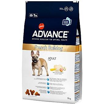 Advance Affinity Alimento de alta gama para perros adultos con pato y arroz French Bulldog Bolsa 9 kg