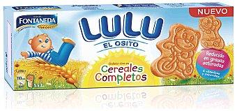 FONTANEDA Galletas de ositos Lulu con cereales 150 gramos