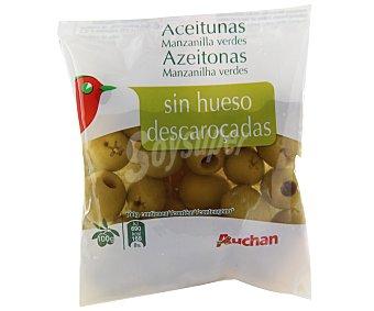 Auchan Aceituna manzanilla sin hueso 75 gramos