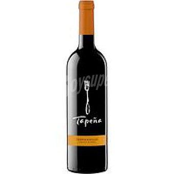 Tapeña Vino Tinto Tempranillo De La Tierra Botella 75 cl