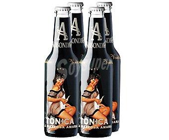 ABBONDIO Tónica italiana Pack de 4 botellas de 27,5 centilitros