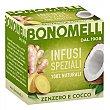 Infusión de jengibre y coco Bonomelli 20 g Bonomelli
