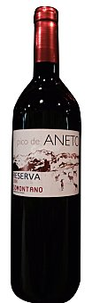 PICO ANETO Vino tinto somontano reserva  Botella de 750 cc