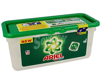 Ariel Detergente en cápsulas para lavadora con gel líquido 32 c