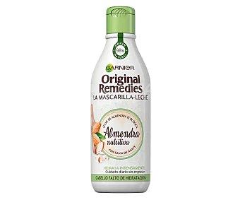 Original Remedies Garnier Mascarilla en leche con savia de ágave, especial cabellos faltos de hidratación 250 ml