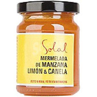 SOLAL Mermelada de manzana con limón y canela Frasco 170 g