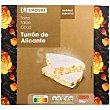 Torta turrón de Alicante Caja 150 g Eroski