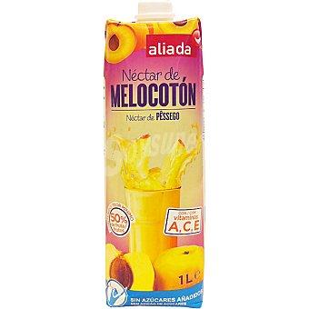 Aliada Néctar de melocotón sin azúcares añadidos Envase 1 l
