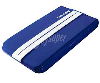 VERBATIM GT Disco duro externo de 2.5 pulgadas Azul y Blanco, 1TB de capacidad, conexión 3.0 y 2.0
