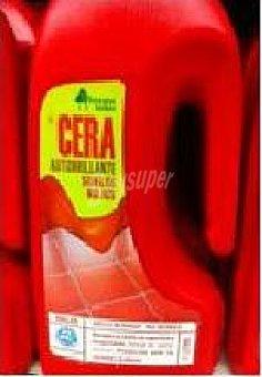 Bosque Verde Cera suelos autobrillante roja Botella 1 l