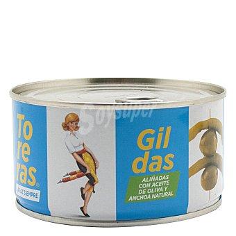 Kimbo Gildas aliñadas con aceite de oliva y anchoa 95 g