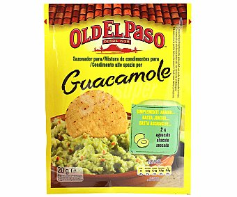 Old el Paso Sazonador para guacamole Sobre 20 g