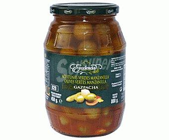 Excelencia Aceitunas verdes manzanilla Gazpacha 400 gramos