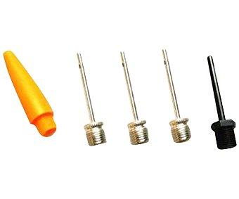 CUP´S Lote de 5 puntas para bomba, accesorio indispensable para el hinchado, que cubrirá las distintas necesidades que tengamos en el hogar, bicicletas, balones... 1 Unidad