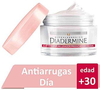 Diadermine Crema de día anti-arrugas con Hialurón efecto lifting duradero rellena y redensifica Tarro 50 ml