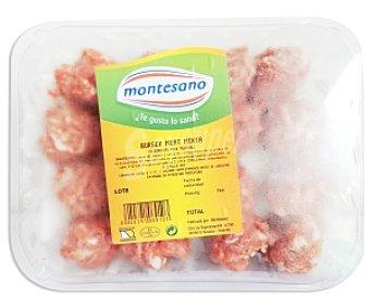 Montesano Burger Meat Mixta 15 Unidades 450 Gramos