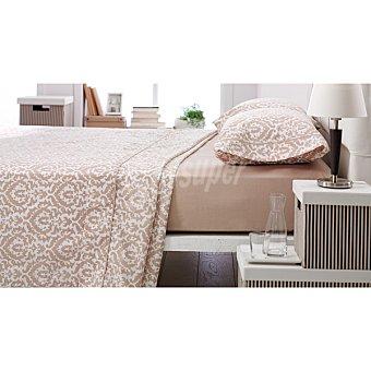 CASACTUAL Badajoz Juego de cama ornamental en color beige