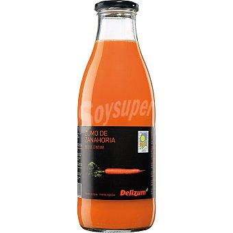 Delizum Zumo de zanahoria ecológico Botella 1 l