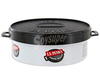 La Piara Paté tapa negra Tarrina de 80 Gramos