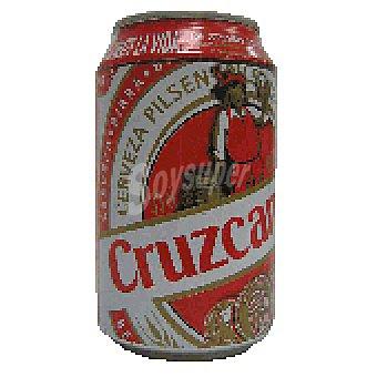 Cruzcampo Cerveza Lata 33 cl