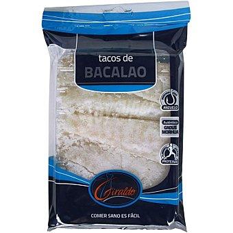 Giraldo Tacos de bacalao Bandeja 400 g