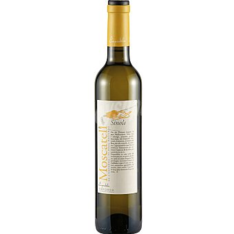 SINOLS Vino dulce natural moscatel de Alejandria D.O. Emporda botella 50 cl Botella 50 cl