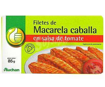 Productos Económicos Alcampo Caballa con Tomate 65 Gramos